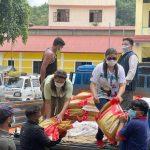 खेलकुद महासंघद्वारा सिन्धुपाल्चोकको मेलम्ची र हेलम्बुका बाढी पीडितलाई राहत सहयोग