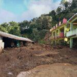 गन्यापधुरा गाउँपालिका २ मा रहेको गणेश माविको भवनमा पहिरोले क्षति, झण्डै ४ करोडकाे नोक्सानी